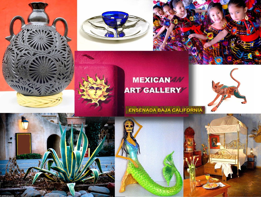 Mexican Art Gallery Ensenada